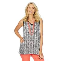 NEW Women's W.Lane Abstract Floral Print