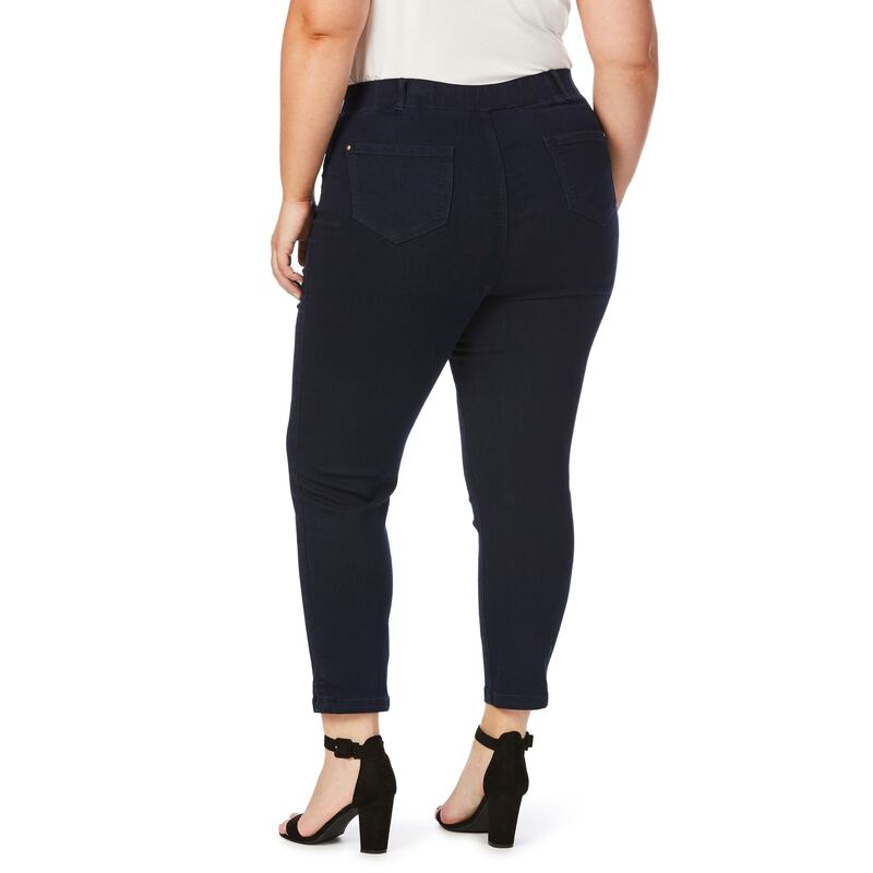 Shadow Dance Ankle Jeans White | Trendy plus size clothing
