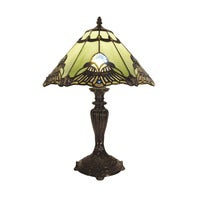 Benita Leadlight Tiffany Table Lamp - Jade