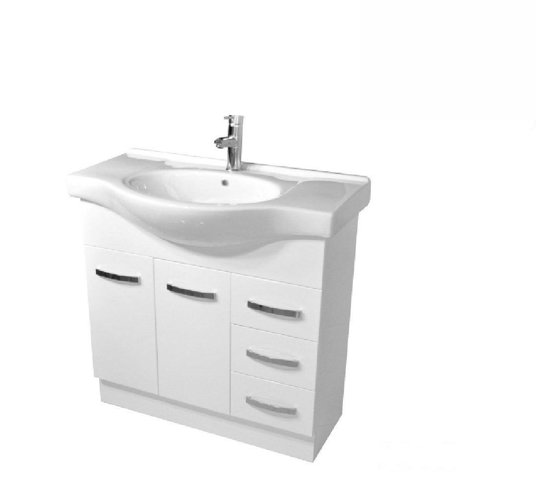 Fienza Antonio 900mm Vanity Unit White 90EKWR | Buy ...