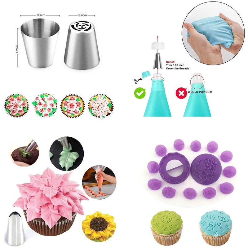 Cake Decorating Supplies Kit for Beginners, Set of 137 ...
