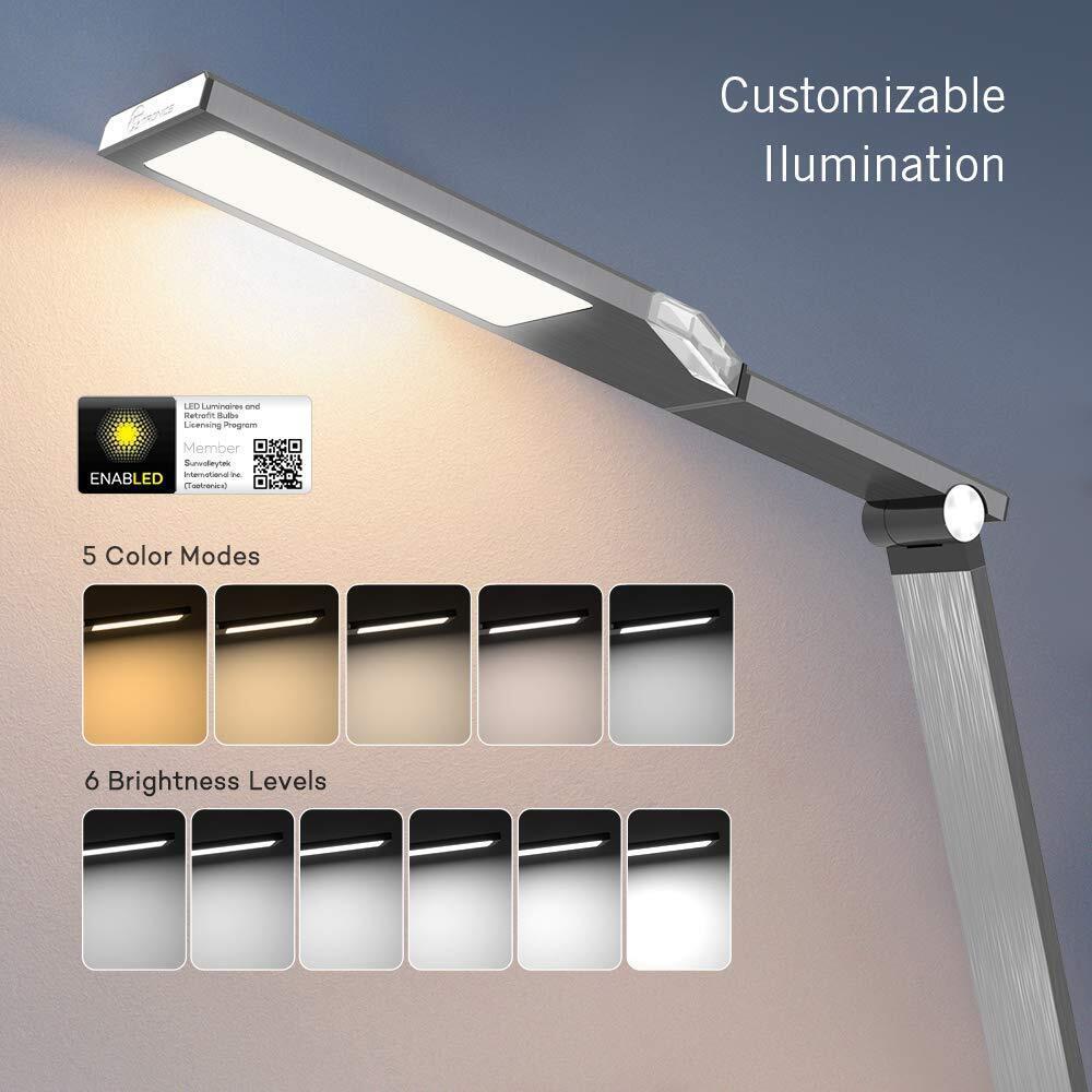 Taotronics Tt Dl16 Stylish Metal Led Table Lamp Buy