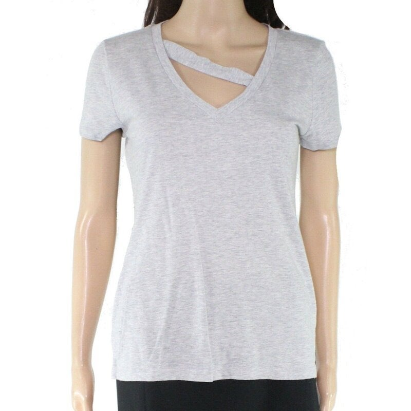2 Pack Womens Short Sleeve Tops & V Neck Tee for Women by Clothing Direct