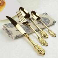 Harriett Gold Cutlery 24 Pcs