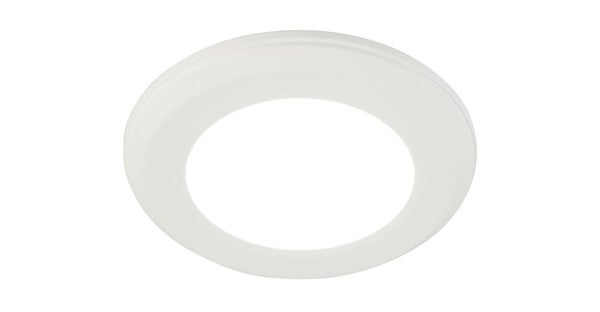 6w Ultra Thin Dimmable Led Recessed Ceiling Panel Down