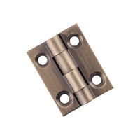 Tradco 9726AB+ Hinge Fixed Pin Antique Brass