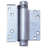 HFH Door Hinge 4160-104 Single Action Hold Closed 100mm Satin Chrome Pair