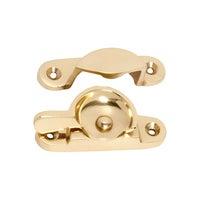 Tradco 1600PB Sash Fastener Polished Brass