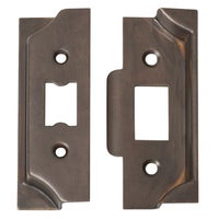 Tradco 2106AB Rebate Kit for Tube Latch Antique Brass