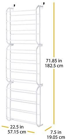 36-Pair OTD Shoe Rack White, White, 24-Pair | Buy Shoe ...
