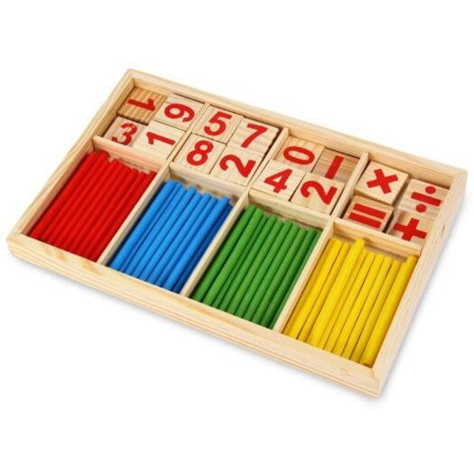 Wooden Montessori Mathematics Material Learning Tool Toy ...