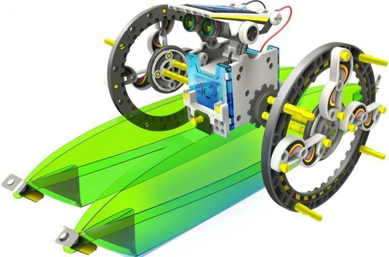 CIC 14 IN 1 EDUCATIONAL SOLAR ROBOT | Buy Educational ...