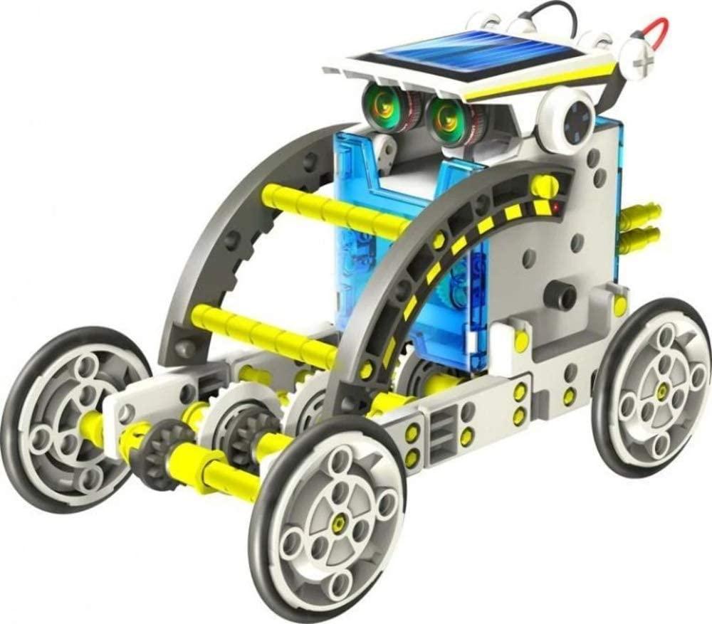 Johnco FS615 14 in 1 Educational Solar Robot | Buy ...