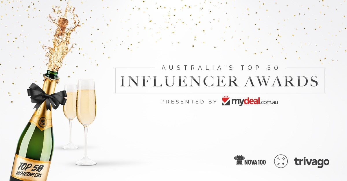 Australia's Top 50 Influencers 2017 Presented by MyDeal.com.au Launched