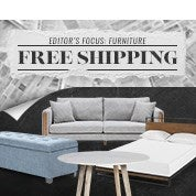 Editor's Focus: Furniture - Free Shipping