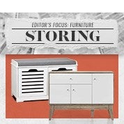 Editor's Focus: Furniture - Storing