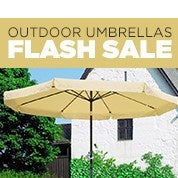 Outdoor Umbrella Flash Sale