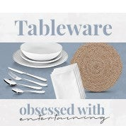 Obsessed with Entertaining: Tableware
