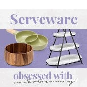 Obsessed with Entertaining: Serveware