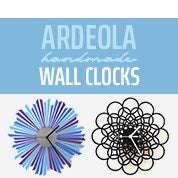 Ardeola Handmade Wall Clocks