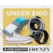 Free Shipping Frenzy: Under $100