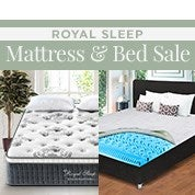Royal Sleep Mattress & Bedding Sale