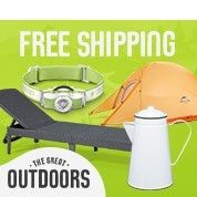 The Great Outdoors: Free Shipping