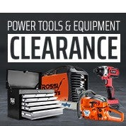 Power Tools & Equipment Clearance