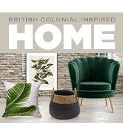 British Colonial Inspired Home