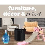 Furniture, Decor & More Sale
