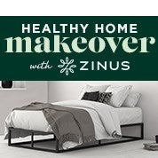 Zinus Healthy Home Makeover Sale