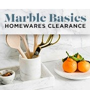 Marble Basics Homewares Clearance
