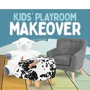 Kids' Playroom Makeover