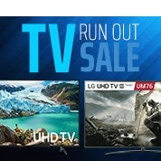TV Run Out Sale