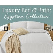 Luxury Bed and Bath: Egyptian Collection