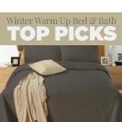 Winter Warm Up Bed & Bath: Top Picks
