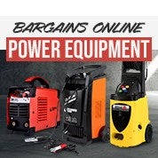 Bargains Online Power Equipment Sale