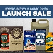 Hobby Hydro & Home Brew Launch Sale