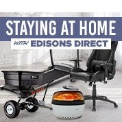 Staying at Home with Edisons Direct