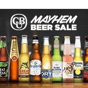 CUB Mayhem Beer Sale
