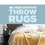 Free Shipping Throw Rugs