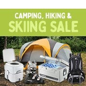 Camping, Hiking & Skiing Sale