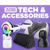 Free Shipping Tech & Accessories