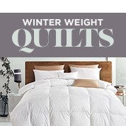 Winter Weight Quilts