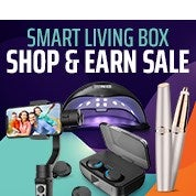 Smart Living Box Shop & Earn Sale