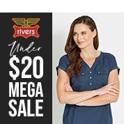 Rivers Under $20 Mega Sale
