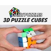 DailyPuzzles 3D Puzzle Cubes