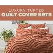 Luxury Tufted Quilt Cover Sets