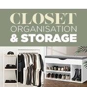 Closet Organisation & Storage
