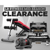LR Fitness Mid-Season Clearance